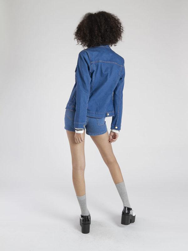 jaqueta jeans skinny