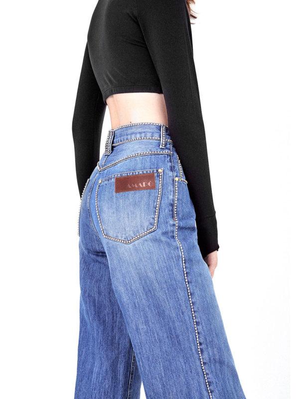 pantalona com strass